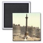 Trafalgar Square I, London, England Fridge Magnet