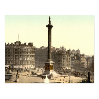 Trafalgar Square I, London, England Postcard