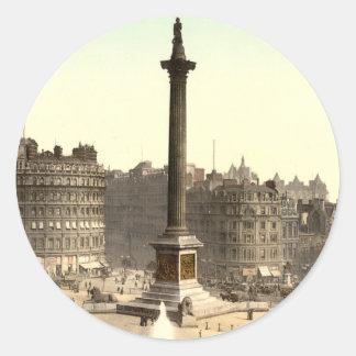 Trafalgar Square I London England Stickers
