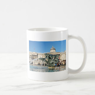 Trafalgar Square in London, UK Coffee Mug