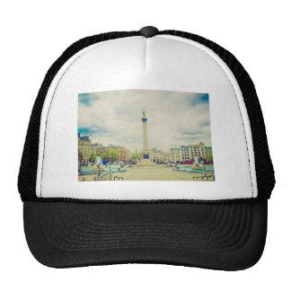 Trafalgar Square in London vintage Trucker Hat