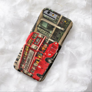 Trafalgar Square London Double Decker Bus Barely There iPhone 6 Case