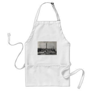 Trafalgar Square, London. Photo about 1940's Adult Apron