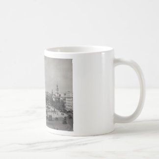 Trafalgar Square, London. Photo about 1940's Coffee Mug