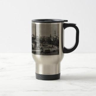 Trafalgar Square, London. Photo about 1940's Mug