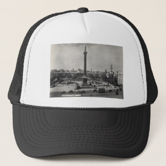 Trafalgar Square, London. Photo about 1940's Trucker Hat