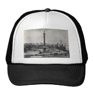 Trafalgar Square, London. Photo about 1940's Trucker Hat