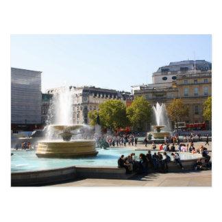 trafalgar Square, London Postcard