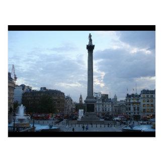 Trafalgar Square, London [Postcard]