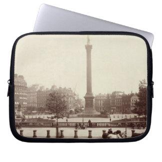 Trafalgar Square, London (sepia photo) Computer Sleeve