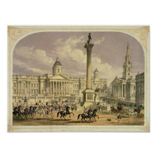 Trafalgar Square, published by Dickinson Poster