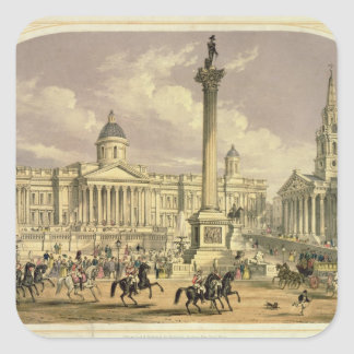 Trafalgar Square, published by Dickinson Square Sticker