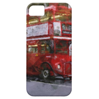 Trafalgar Square Red Double-decker Bus, London, UK iPhone SE/5/5s Case