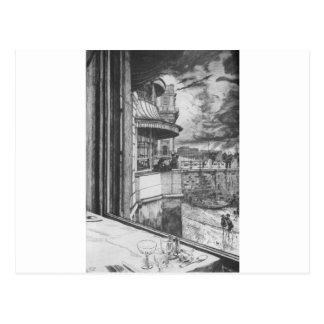 Trafalgar Tavern by James Tissot Postcard