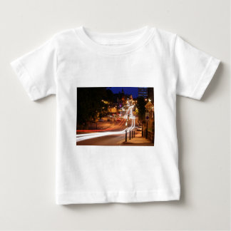 Traffic At Night In Harrogate Town Centre Tshirts