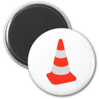 Traffic cone magnet