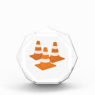 Traffic Cones Acrylic Award
