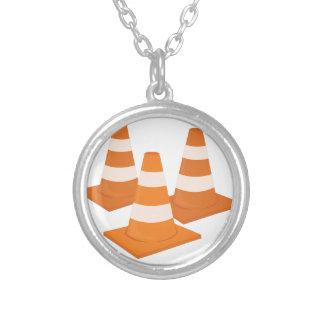 Traffic Cones Necklace