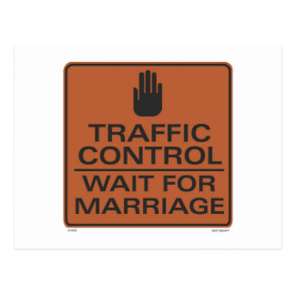 Traffic Control Postcard