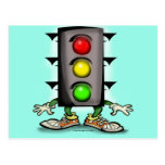 Traffic Fun Post Cards