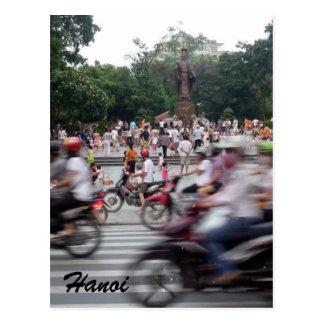 traffic hanoi postcard