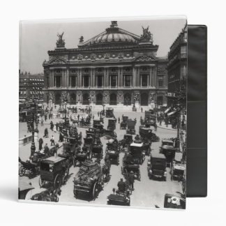 Traffic in front of the Paris Opera House Binder