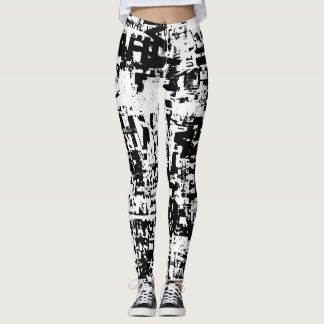 Traffic Jam Leggings by Grafik Girl
