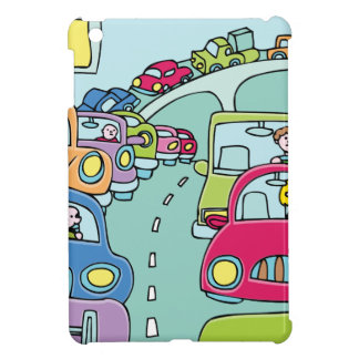 Traffic Jam People Case For The iPad Mini
