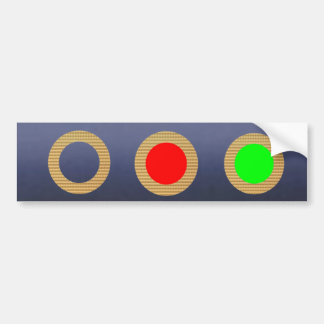 Traffic Light Collection - Kids Learning Tools Bumper Sticker