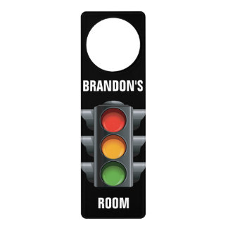 Traffic Light Door Hanger