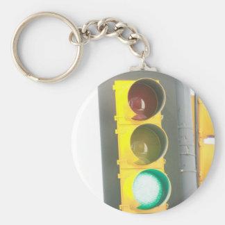Traffic Light Keychain