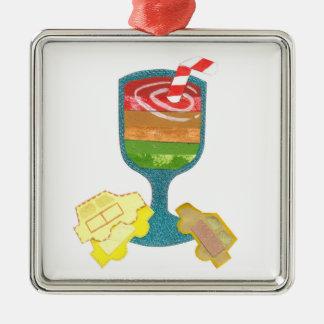 Traffic Light Milkshake Premium Ornament