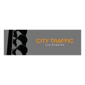 Traffic Light Mini Business Card