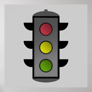 Traffic Light Poster
