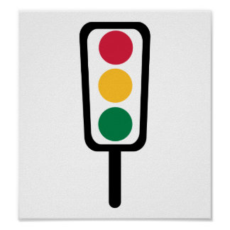 Traffic light print