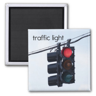 Traffic Light Refrigerator Magnet