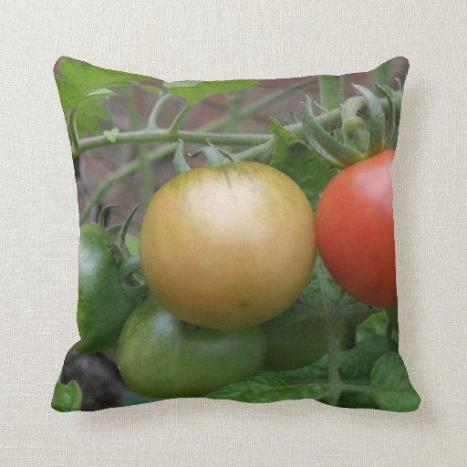 Traffic Light Tomatoes Pillow