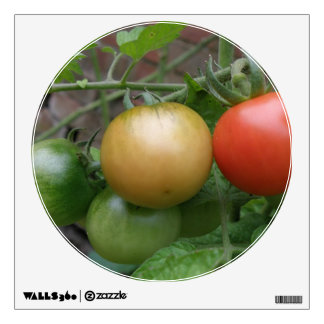Traffic Light Tomatoes Wall Decal