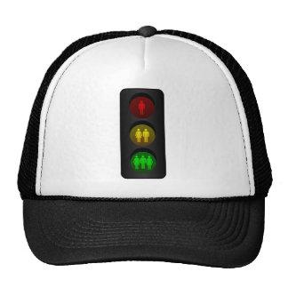 Traffic light trucker hat