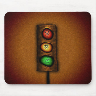 Traffic Lights Mouse Pad