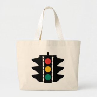 Traffic Lights Street Sign Tote Bag
