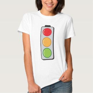 traffic lights tee shirt