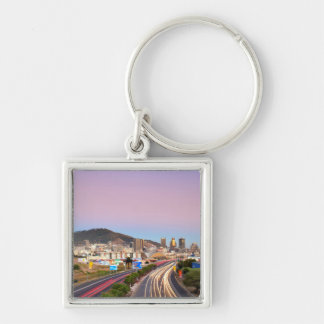 Traffic On Motorway To Cape Town, Western Cape Key Chain