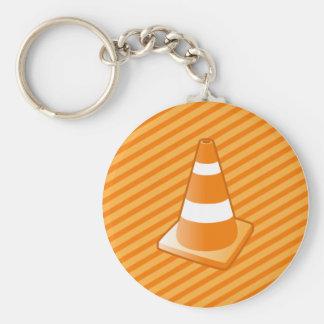Traffic Safety Cone Key Chain