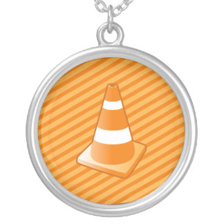 Traffic Safety Cone Necklace
