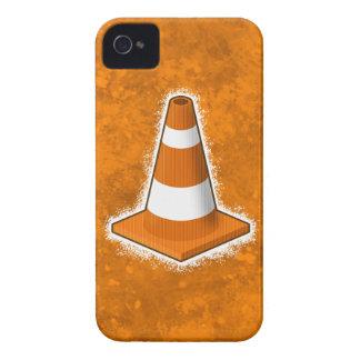 Traffic Safety Cone Splatter iPhone 4 Case