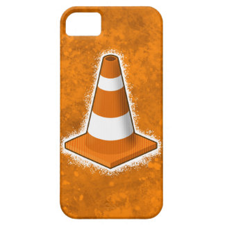 Traffic Safety Cone Splatter iPhone SE/5/5s Case