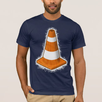 Traffic Safety Cone Splatter T-Shirt