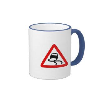 Traffic Sign Ringer Mug