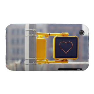 Traffic sign with heart shape iPhone 3 Case-Mate cases